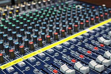 mixing desk background pattern