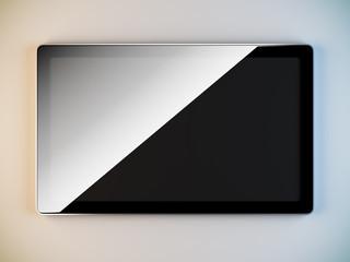 Minimalist style lcd panel.