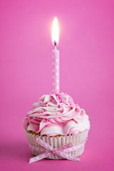 Wall Mural - Birthday cupcake