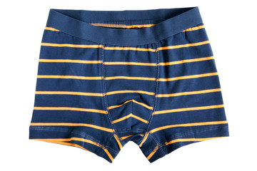 Children's striped pants