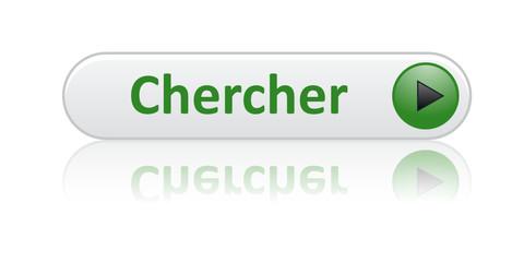 """Bouton Web """"CHERCHER"""" (internet moteur rechercher en ligne site)"""