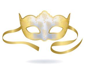 Venetian Gold Carnival mask.