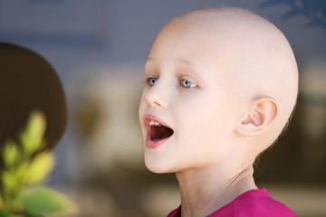 cancer child portrait