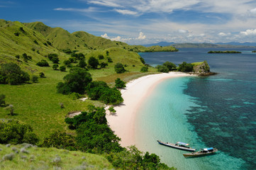 Self adhesive Wall Murals Indonesia Indonesia, Flores, Komodo National Park