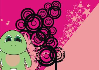 turtle cartoon background1