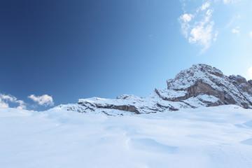 Landschaft in den Dolomiten