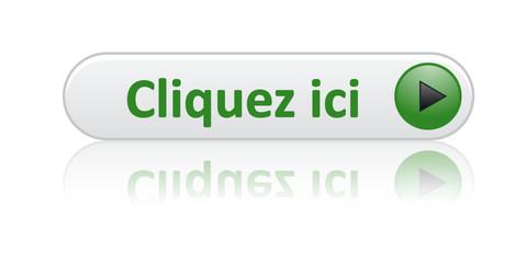 """Bouton Web """"CLIQUEZ ICI"""" (clic cliquer connexion curseur souris)"""