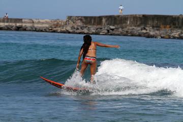 Rasta surfeuse