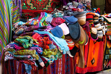Colorful Fabric from Peru