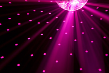Wall Mural - party lights background