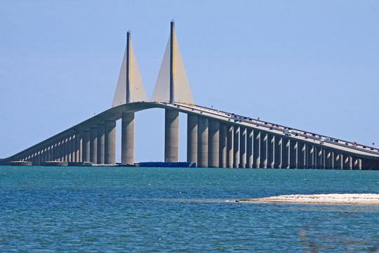 Sunshine Skyway Bridge,Tampa Bay,Florida