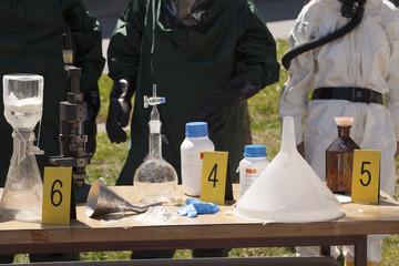 illegal drug lab