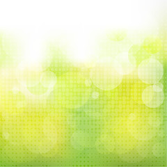Green Natural Background With Boke