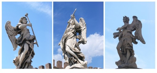 Statue Angeli, Roma