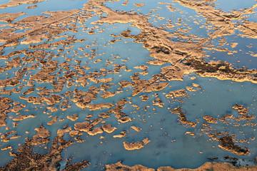 Photo aérienne des Marais de Camargue