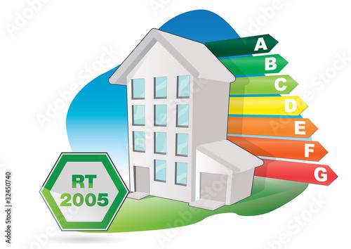 batiment immeuble basse consommation norme rt 2005. Black Bedroom Furniture Sets. Home Design Ideas