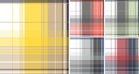 colorful plaid check pattern