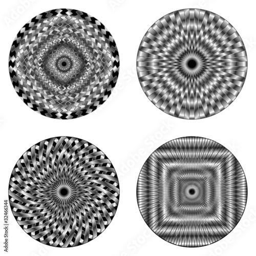 """Ipnosi Ipnotico Simbolo-Hypnotic Symbols-Vector"" Immagini"