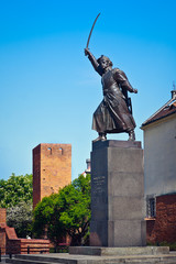 Jan Kilinski statue (1794 uprising commander)