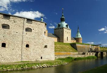 Kalmar's castle fortifications