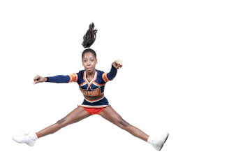 Black Girl Cheerleader