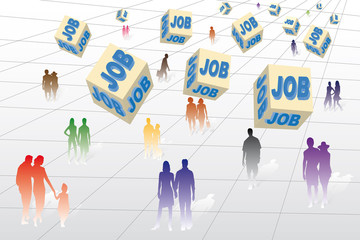 Chômage, emploi et travail