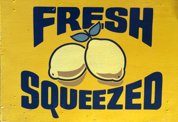Fresh Squeezed Lemons