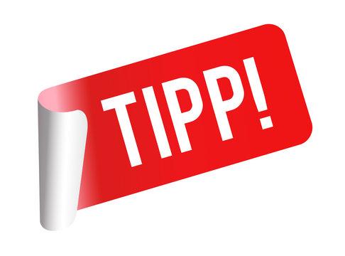 Tipp Sticker