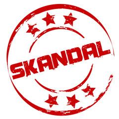Stempel: Skandal