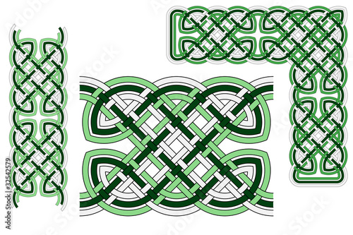"""Celtic Knot Border"" Stock image and royalty-free vector ..."