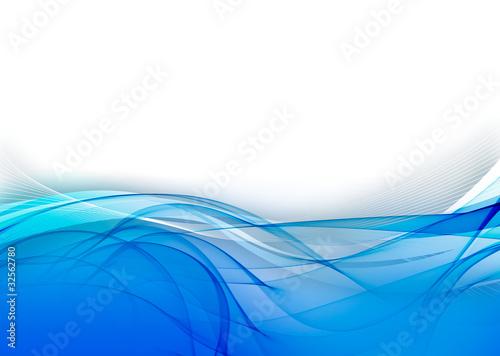 l 39 oc an de courbe bleu photo libre de droits sur la banque d 39 images image 32562780. Black Bedroom Furniture Sets. Home Design Ideas