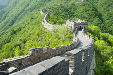 Foto op Canvas Chinese Muur The Great Wall of China