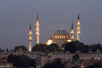 Suleymaniye Mosque, Istanbul - Turkey
