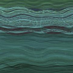 tło zielona fala