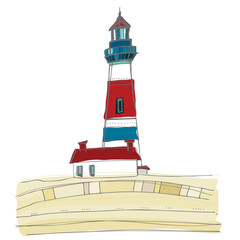 illustrated lighthouse