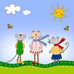 Illustrations for children