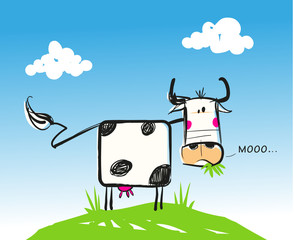 vache illustration