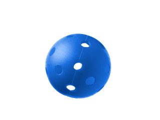 Blue Ball isolated on a white background