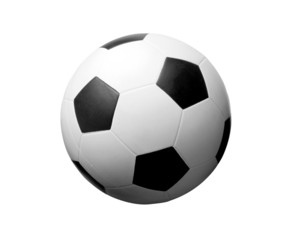 Football. Isolated object on a white background