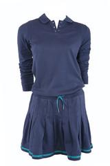 Blue sports dress