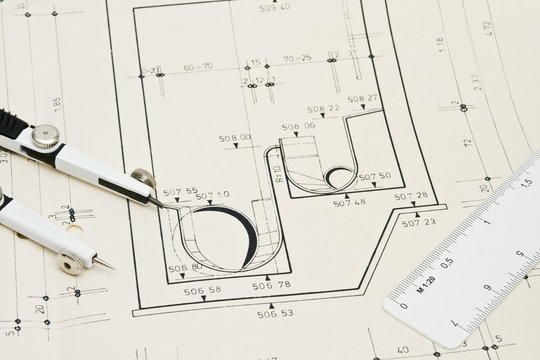 Plan Kanalisationsschacht