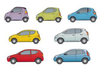 Kleinwagen, Stadtwagen, neutrale