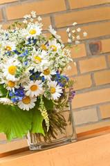 Margeriten, Sommerblumenstrauß, Blumenschmuck