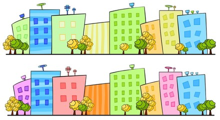 Illustration of city.