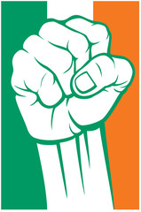 ireland fist