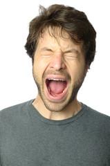 Man Screaming