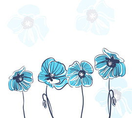 Abstrract floral background