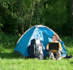 Camping and Technology