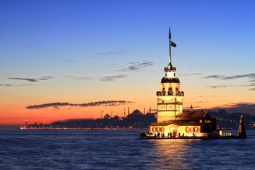 Istanbul Maiden Tower from the east