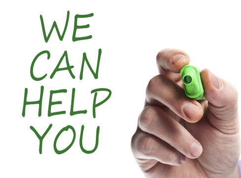 We can help you